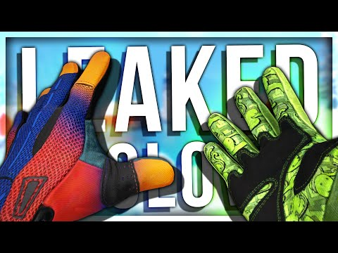 NEW LEAKED GLOVE SKINS FOUND IN CSGO GAME FILES (BROKEN FANG)