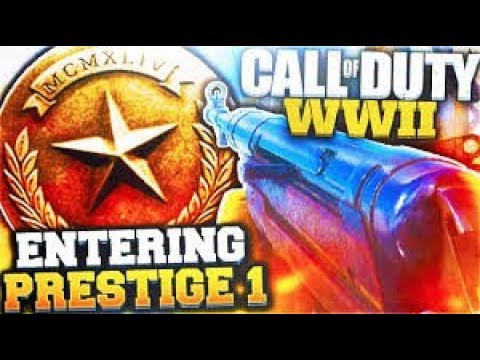COD WW2: Finally Going To Enter Prestige 1: COD WW2 Live Gameplay
