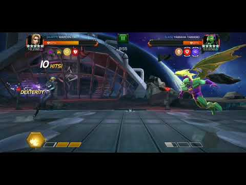 Black Widow Claire Voyant Vs Annihilus AW Boss | MCOC
