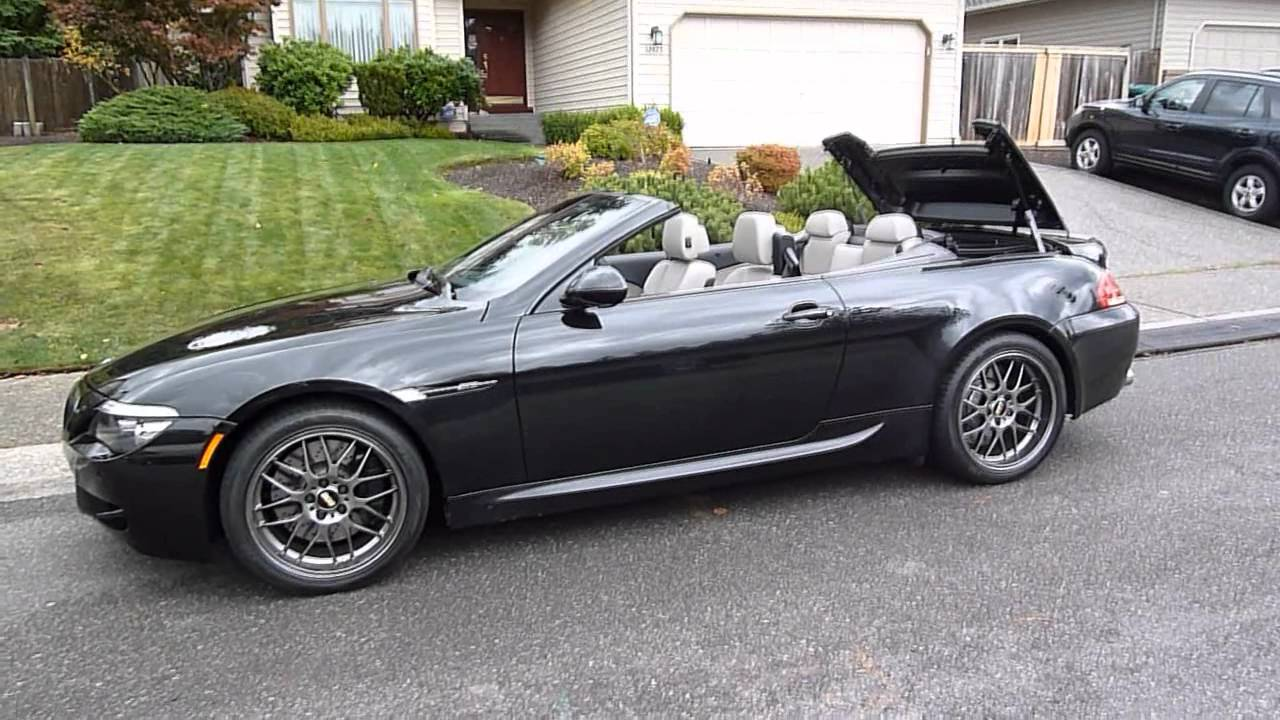 bmw m6 convertible roof control mod doovi. Black Bedroom Furniture Sets. Home Design Ideas