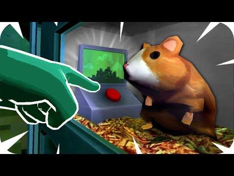 CUIDADO CON EL BOTÓN DEL HAMSTER | Please, Don't Touch Anything 3D (VR) #3