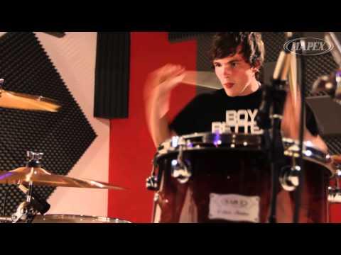 Mapex Orion Series drum kit demo music