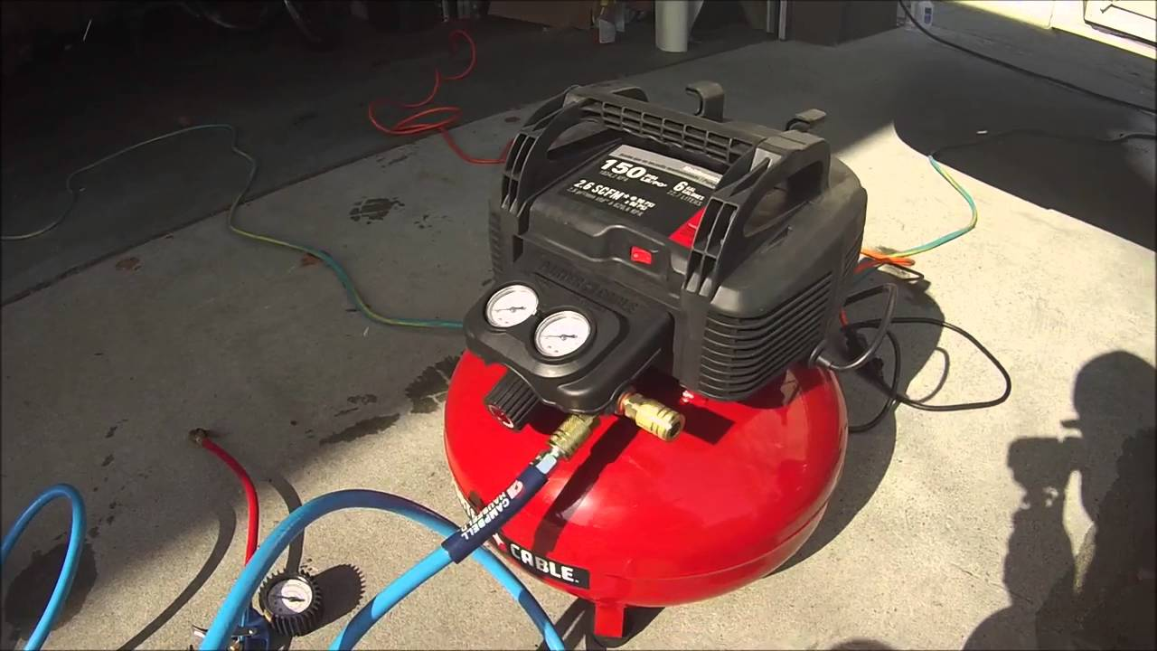 Air Compressor Setting For Tires