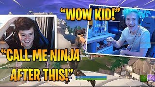 "BUGHA CALLS HIMSELF TYLER ""BUGHA"" BLEVINS AFTER THIS GAME *THE NEXT NINJA* - Fortnite Best Moments"