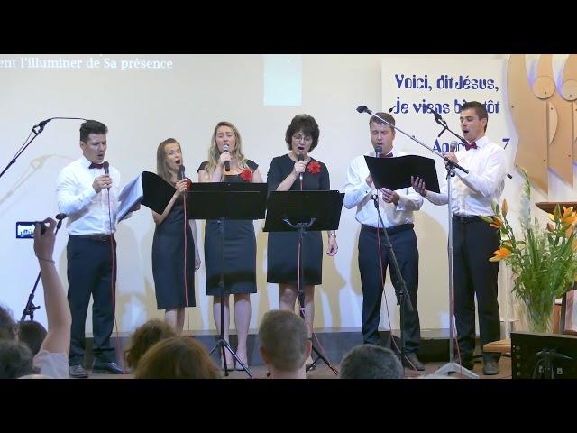 Chant en roumain par Lauda - Concert