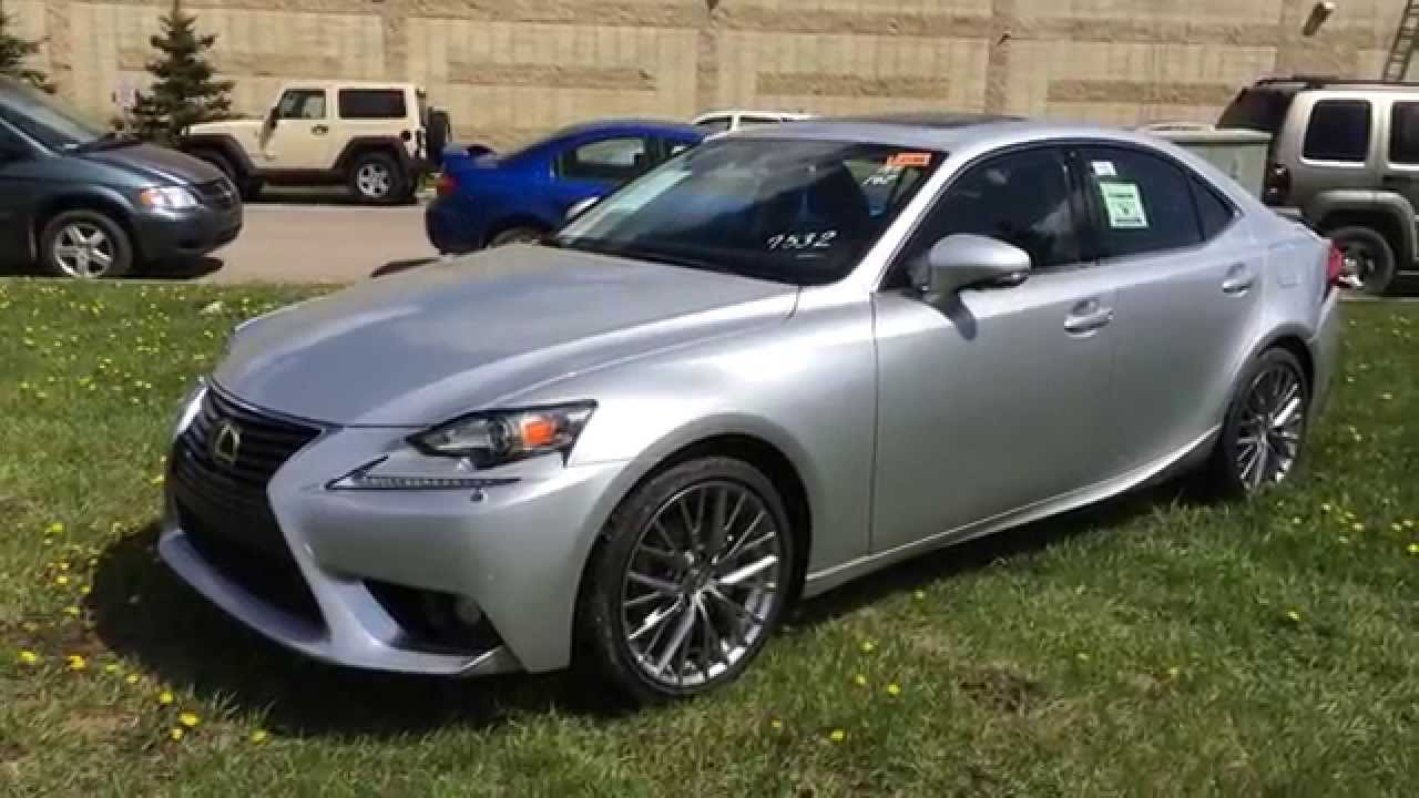2014 lexus is 250 awd silver on black luxury package. Black Bedroom Furniture Sets. Home Design Ideas