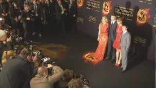 Premiere in Berlin - DIE TRIBUTE VON PANEM - Offizieller Clip der Deutschlandpremiere!