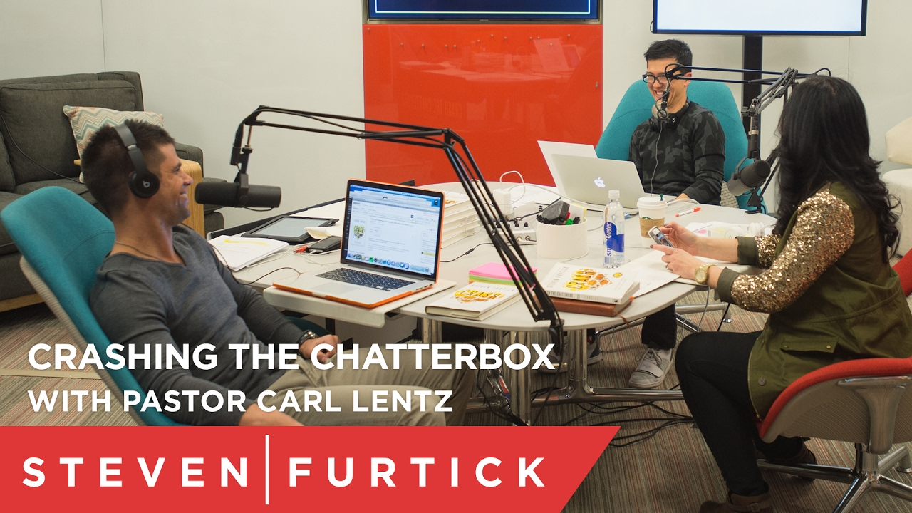 Crashing the Chatterbox with Pastor Carl Lentz