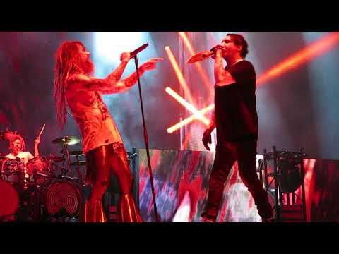 Rob Zombie Marilyn Manson Helter Skelter Kiss Beatles Covers god of Thunder Hartford Xfinity 8/11/18