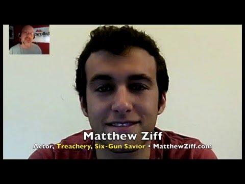 Muggle Quidditch not enough for Six Gun Savior actor Matthew Ziff! INTERVIEW
