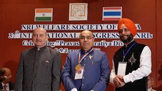 DR. ALKA GUPTA IN NRI WELFARE SOCIETY OF INDIA 37TH CONGRESS OF NRI BANGKOK PART 2