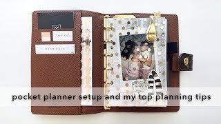 Pocket Planner Setup & My Top 5 Planning Tips