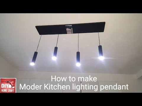 Diy Homemade Kitchen Modern Pendant Light