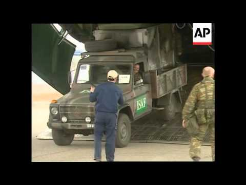 First Greek peacekeepers arrive in Afghanistan