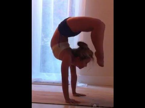Tic Tocs Handstand Backbends Scorpion Vrschikasana in Ashtanga Yoga