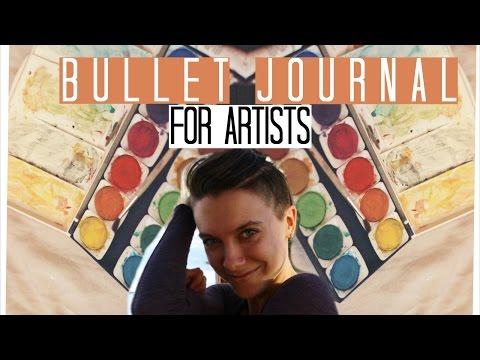 Bullet Journal (for artists!)