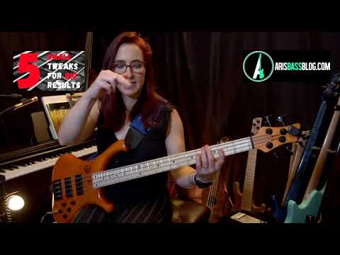 5 Small Bass Playing Tweaks Big Results #1
