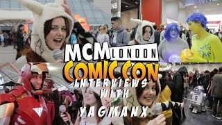 MCM Comic Con London October 2015 - with YAGMANX