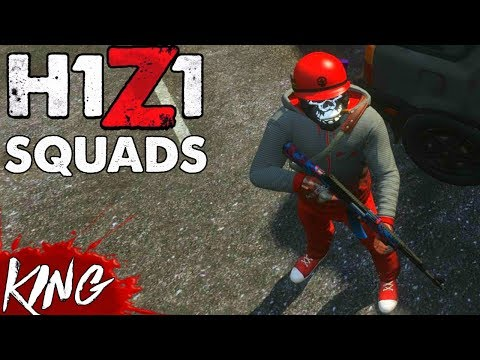 Member Squad Games! H1Z1 PS4 GAMEPLAY