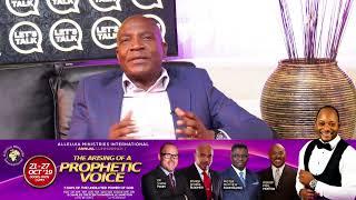 Let's Talk With Palesa Marike & Bishop Shepherd| Monday 14 October 2019 | AMI LIVESTREAM