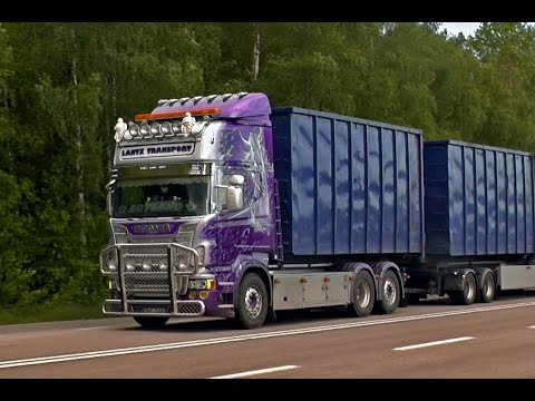 Scania R560 Super \8/ Sound Lantz Transport