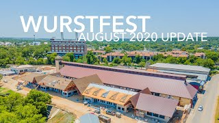 Wurstfest Construction Update - August 2020 (DJI Mavic Air 2 in New Braunfels)
