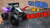 SUZUKI lt80 FIRST RIP!! (Wheelies, Riding, & Hillclimb?) - YouTube