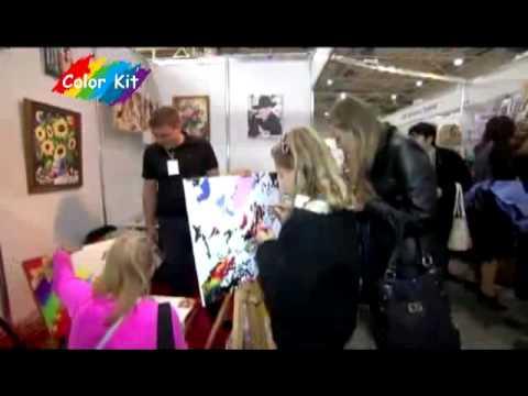 Картины раскраски по номерам купить Харьков - YouTube