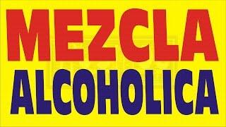 QUÉ ES MEZCLA ALCOHÓLICA - EJEMPLO RESUELTO - REGLA DE MEZCLA -GRADO MEDIO - ARITMÉTICA
