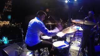 "Francisco ""Paquito"" Aranda Drum Cam - Live Mexico City (Let's Dance Tour)"