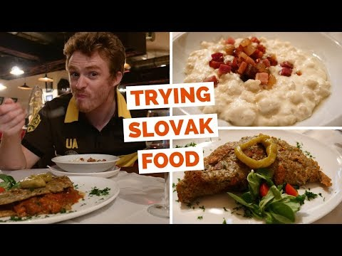 Slovak Food Review - 5 Things to try in Bratislava, Slovakia