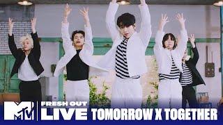 """Tomorrow x Together Perform """"Magic""""   #MTVFreshOut"""