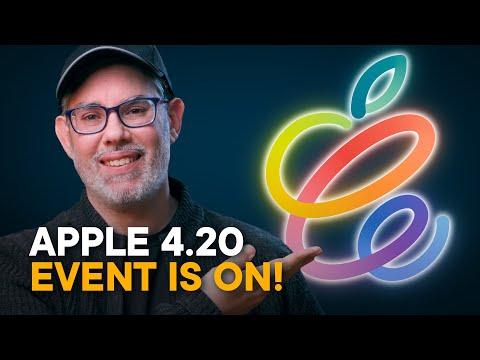 Apple April 20 Event — It's On!