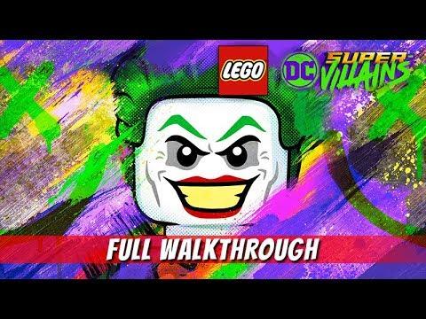 LEGO DC SUPER VILLAINS – Full Gameplay Walkthrough / No Commentary 【1080p HD / Full Game】