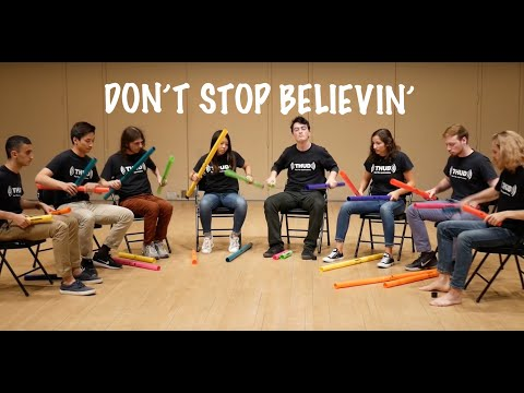 Must See Popular Videos | Plugged In - Don't Stop Believin' on Boomwhackers