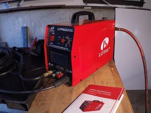 Lotos LTP 5000D Plasma Cutter Review