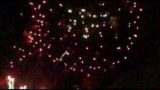 feux d'artifice 1er août 2009 à Genève