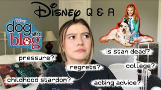 Opening up about Disney / Dog With a Blog - G Hannelius