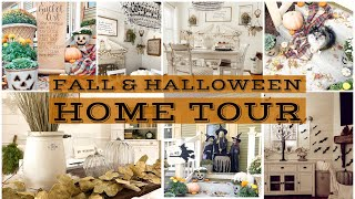 Fall and Halloween House Tour