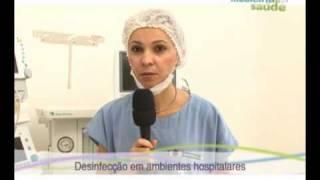 """Chamada Medicina e Saúde - """"DESINFECÇÃO HOSPITALAR"""""""