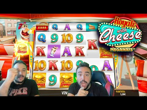SLOT ONLINE - Scopriamo la ROYALE WITH CHEESE MEGAWAYS 🍔🎰