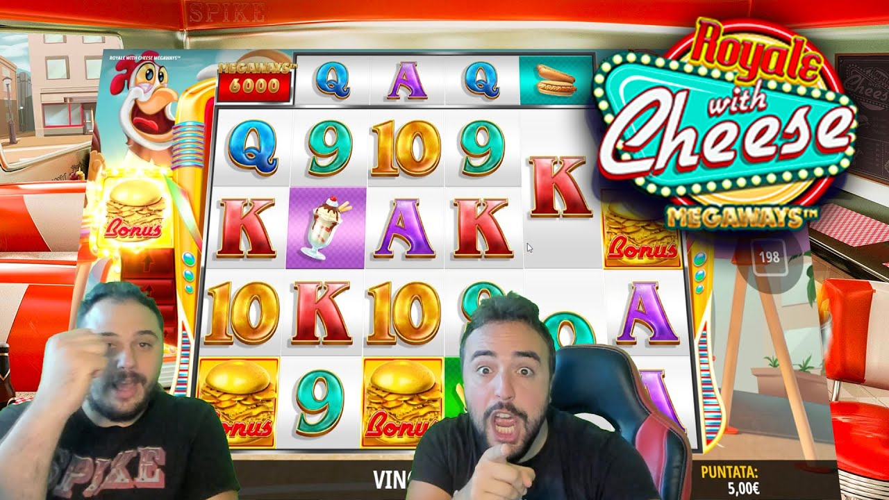 Download SLOT ONLINE - Scopriamo la ROYALE WITH CHEESE MEGAWAYS 🍔🎰