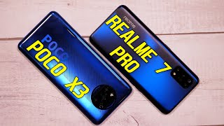 POCO X3 vs Realme 7 Pro FULL Comparison | Camera Test | Speed Test | Pros & Cons [Hindi]