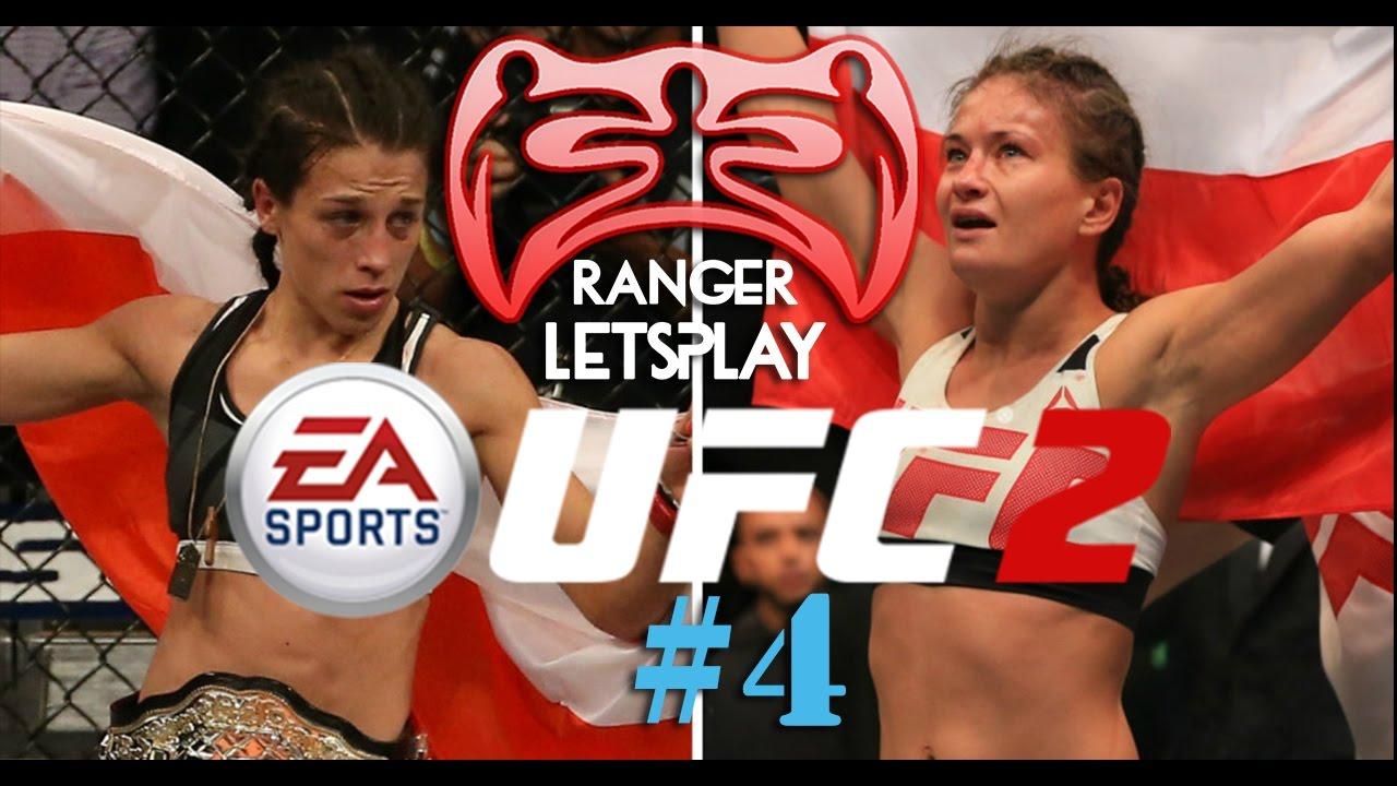 UFC3 Glitch Joanna Jedrzejczyk vs Justin Gaethje - YouTube