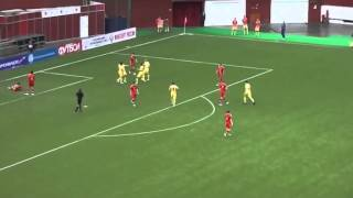 Украина (U21) - Россия (U21) - 4:0. Кубок Содружества. Обзор матча (02.02.2014)