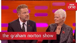 Judi Dench almost went on stage without her skirt  - The Graham Norton Show: 2017 - BBC One