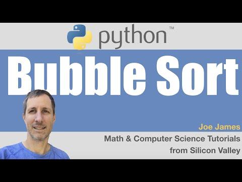 Python: BubbleSort algorithm