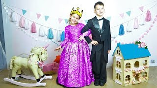 Mania is going to the Princess ball - Youtube