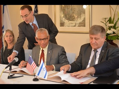 NASA and Israel Space Agency Sign Agreement