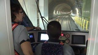 الرئيس البرازيلي بالوكالة ميشال تامر حضر افتتاح خط المترو الجديد